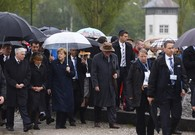 Merkel Joins Survivors, US Vets to Mark Dachau Liberation