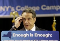 Hm: Cuomo Casts Self as Crusader Against Sexual Assault on Campus