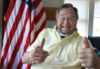 George H.W. Bush Recovering Nicely From Broken Neck