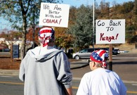 Strong Emotions as Obama Visits Grieving Oregon Town