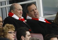 Chris Christie Begins Trip to London With... Soccer
