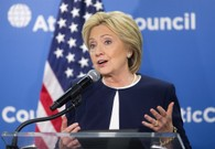 Clinton Rallies With Female Senate Democrats - Except Warren