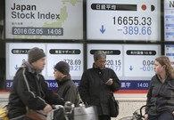 World stocks turn lower after mixed US job report