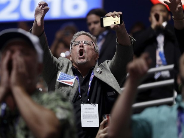 RNC 2016: Crowd Loud During Cruz Speech
