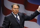 Wayne LaPierre Addresses NRA 2013 Conference In Houston