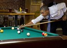 MSNBC: Why Was Obama Shooting Pool and Drinking Beer?