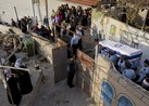 Tensions are rising as Israeli police on Thursday handed home demolition notices to families of four Palestinian attackers from east Jerusalem, including two assailants who killed five people in a synagogue attack earlier this week. (AP
