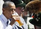 Obama Begins German Visit