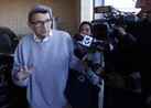 Joe Paterno's son is striking back against new claims that his father may have known about Jerry Sandusky's sexual abuse of young boys.