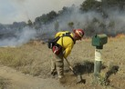 Crews Make Big Gains in Calif. Wildfire