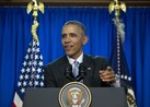 President Barack Obama talks about the 2016 presidential elections.