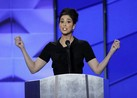 "Comedian Sarah Silverman tells Bernie Sanders fans booing at the Democratic Convention they're ""being ridiculous""."