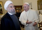 Pope Francis Meets With President Of Iran