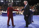 """Sept. 28 -- Doug Holtz-Eakin, president at American Action Forum, examines the economic and tax plans of U.S. presidential candidates Donald Trump and Hillary Clinton. He speaks with Bloomberg's David Westin on """"Bloomberg GO."""""""