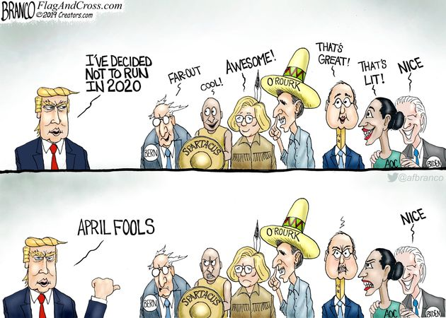Political Cartoons by AF Branco