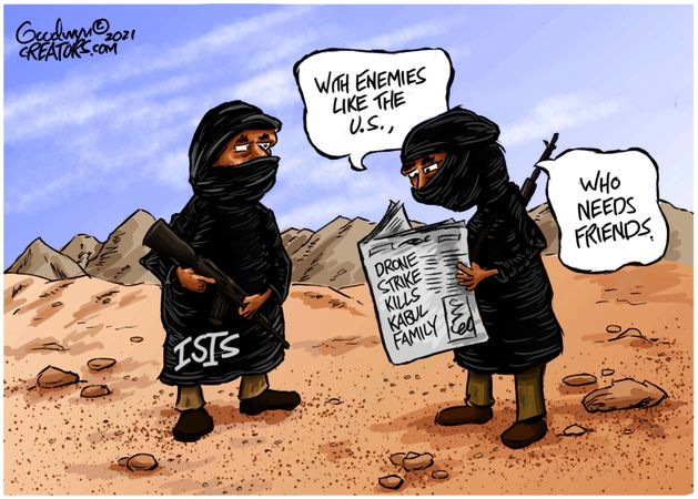 Political Cartoons by Al Goodwyn