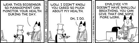 Political Cartoons by  Dilbert