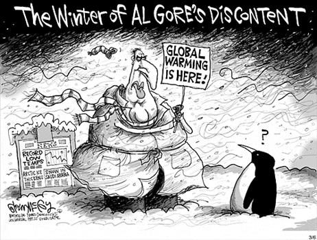 global warming by al gore Al gore claimed earth is getting colder because it's getting warmer, in response to critics who say recent cold weather debunks global warming.