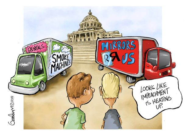 Political Cartoons by Al Goodwyn