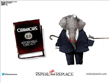 Political Cartoons by Michael Ramirez