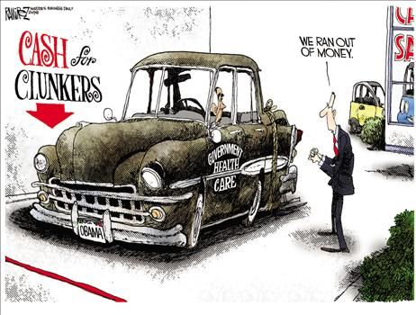 Cash For Clunkers >> Michael Ramirez Political Cartoons – Political Humor, Jokes, and Pictures Updated Daily ~ July ...