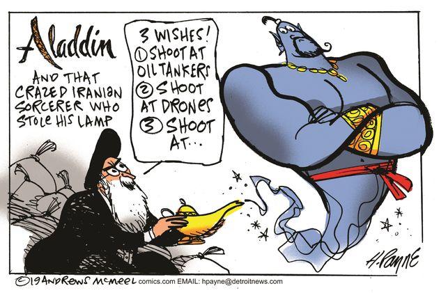 Political Cartoons by Henry Payne