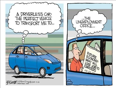 Speeding Tickets May Take A Hit. OMFG!!! What's Next…..no ...   Self Driving Car Jokes