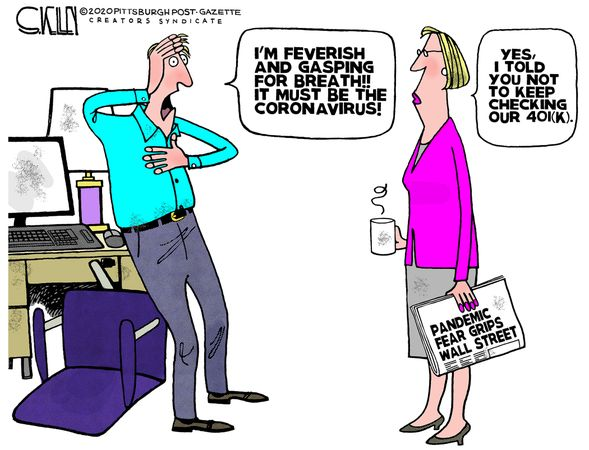 Steve Kelley Political Cartoons Daily & Weekly ~ February 28, 2020 ...