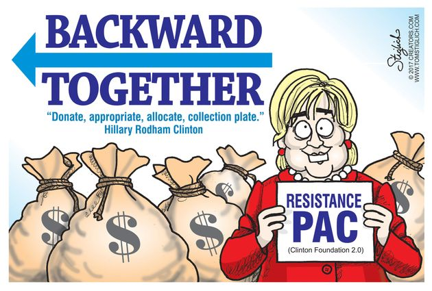 Political Cartoons by Tom Stiglich