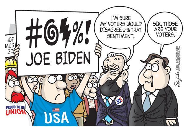 Political Cartoons by Tom Stiglich