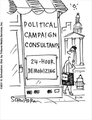Political Cartoons by  9 to 5