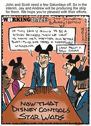 Political Cartoons by  Working Daze