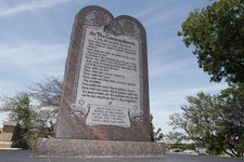 Atheist Forces School to Ditch Ten Commandments Monument