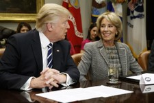 President Trump Donates His Quarterly Salary to the Department of Education