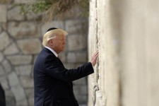 PHOTOS: Trump Becomes The First Sitting U.S. President To Visit The Western Wall