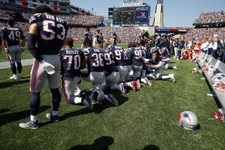 New England Patriots Fan: I Like What Trump Said, 'If You're Not Going to Stand For This Country—You're Fired'