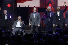 Here's How Much Money Former Presidents Raised for Hurricane Victims