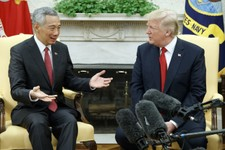 WATCH: President Trump Gives Joint Statements with Prime Minister Lee Hsien Loong