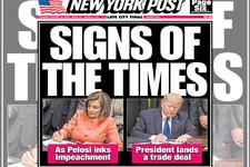 The New York Post's Cover Perfectly Summarizes Politics in America