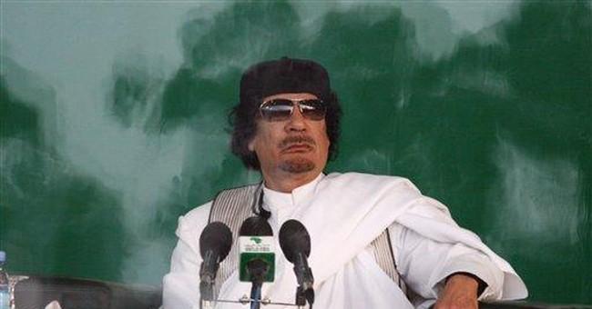 ICC Issues Arrest Warrant for Gadhafi