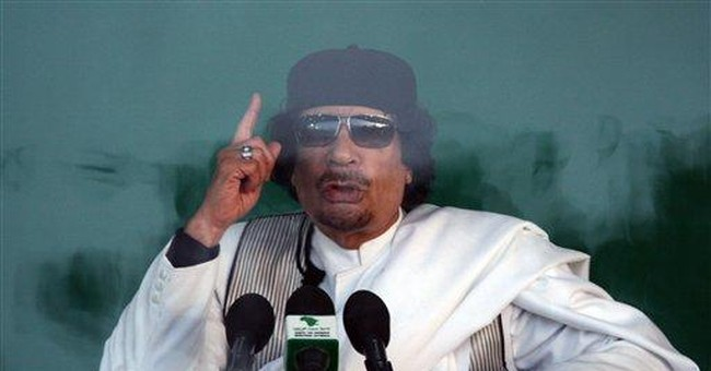 The Hague Issues Arrest Warrant for Gadhafi