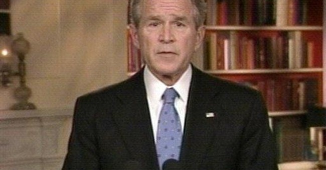 Waiting for Bush to save the day