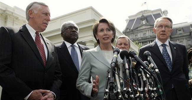 Defeatist democrats boost enemy's morale