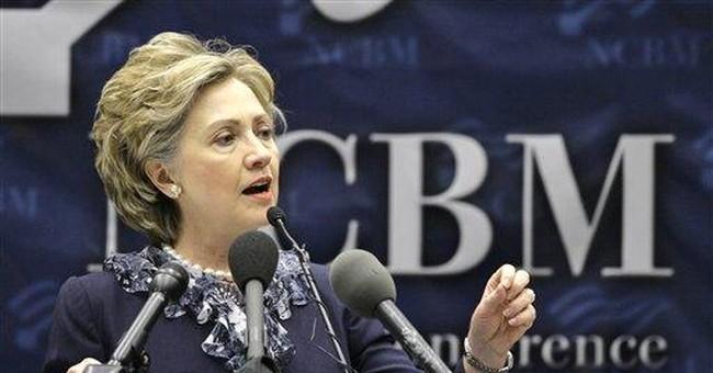 No longer inevitable: Hillary stuck in real race