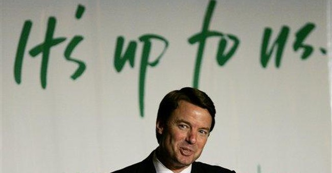 John Edwards says celebrate Memorial Day the anti-war way
