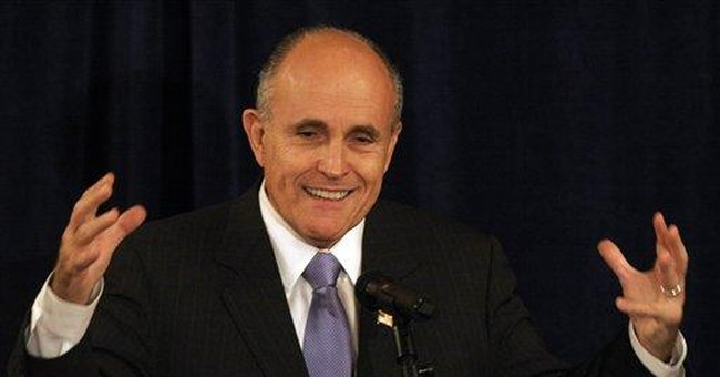 Rudy Giuliani: leadership through results-driven government
