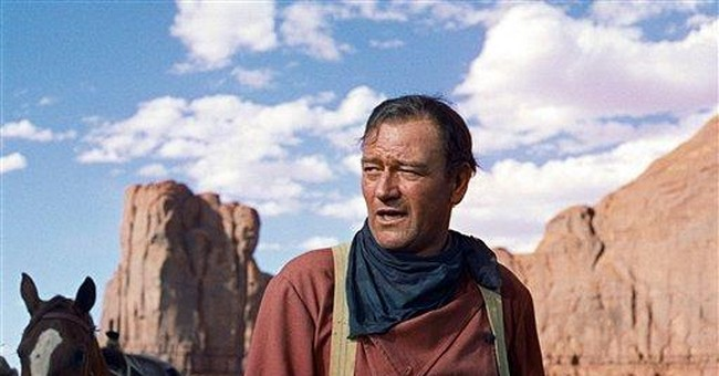 Where's John Wayne When You Really Need Him?