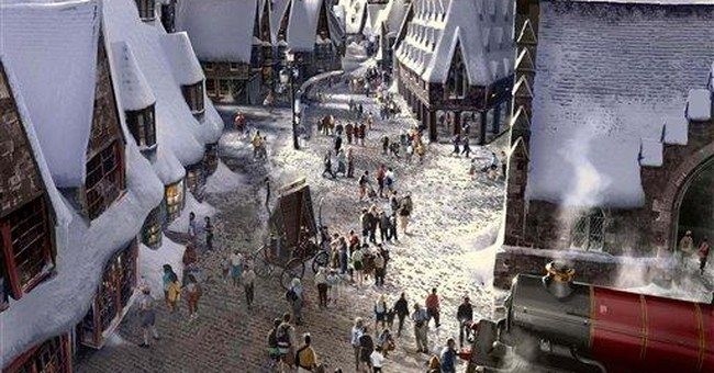 Potter attraction on way to Universal Hollywood