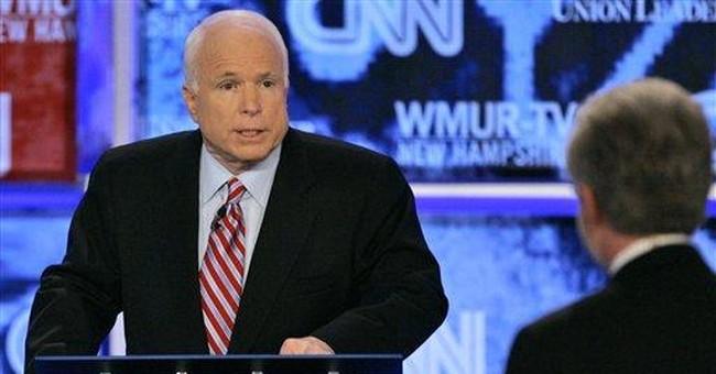 John McCain is ready to lead