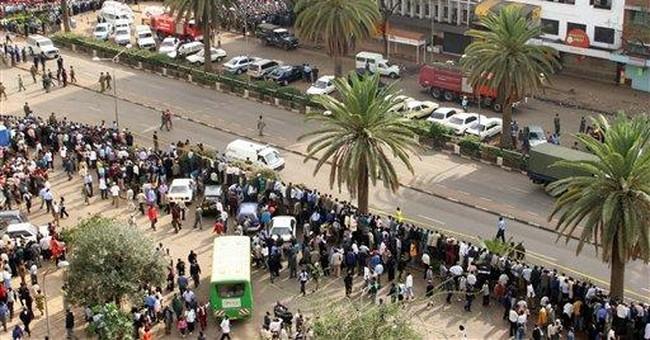 Bomb just misses Kenyan policeman in refugee camp
